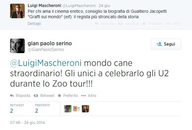 Luigi Mascheroni (Il Giornale) consiglia Graffi sul mondo