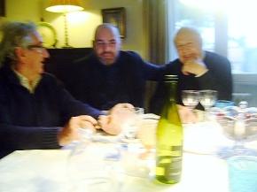 Con Carlo Gregoretti e Giampaolo Lomi