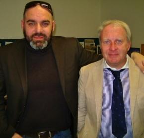 Con Giampaolo Polesini, Messaggero Veneto, 2014